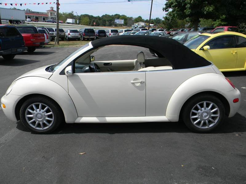 2004 Volkswagen New Beetle Convertible for sale at granite motor co inc - Granite Motor Co 2 in Hickory NC