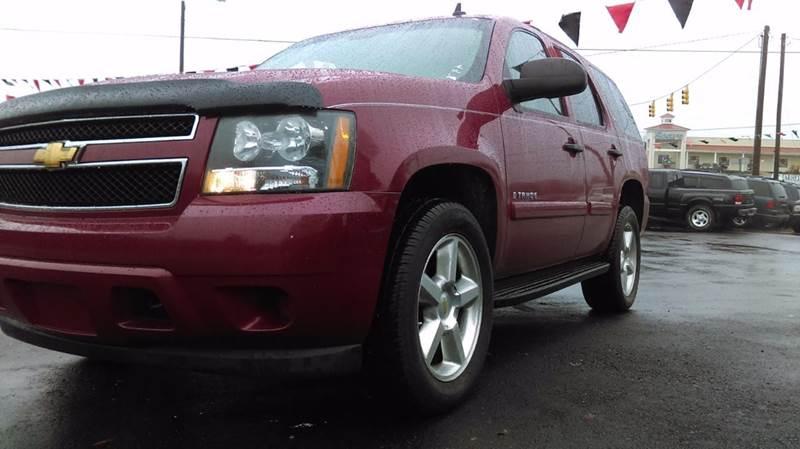 2007 Chevrolet Tahoe for sale at granite motor co inc in Hudson NC