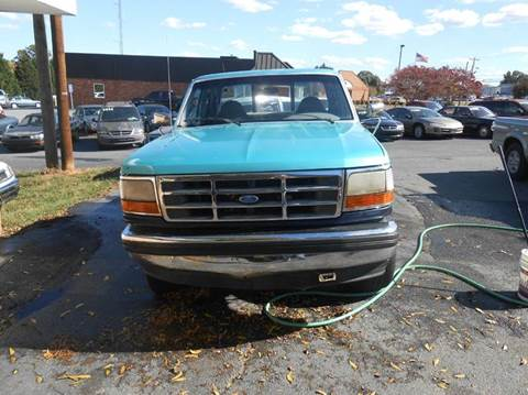 1994 Ford F-150 for sale at Granite Motor Co 2 in Hickory NC