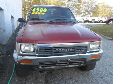 1991 Toyota Pickup for sale at Granite Motor Co 2 in Hickory NC