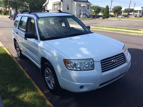 2007 Subaru Forester for sale at Charles and Son Auto Sales in Totowa NJ