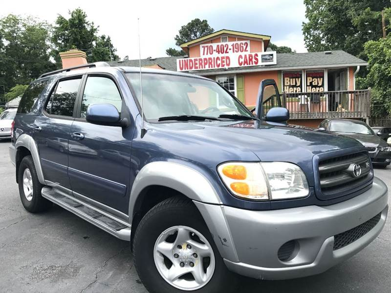 2002 Toyota Sequoia for sale at Underpriced Cars in Marietta GA