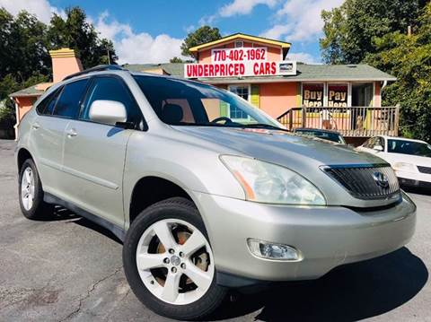 2004 Lexus RX 330 for sale at Underpriced Cars in Marietta GA