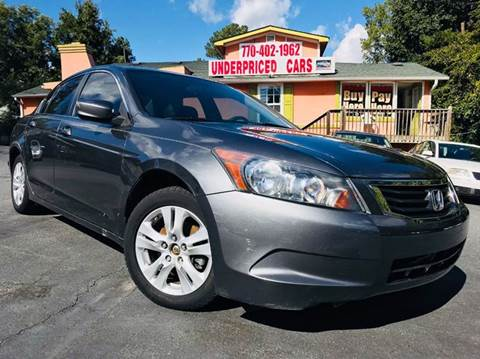 2009 Honda Accord for sale at Underpriced Cars in Marietta GA
