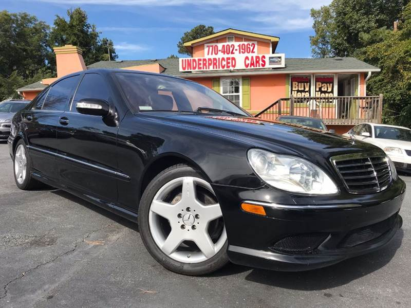 2005 Mercedes-Benz S-Class for sale at Underpriced Cars in Marietta GA