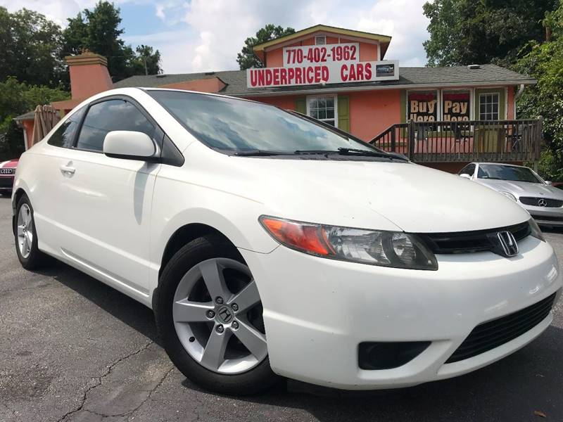 2007 Honda Civic EX 2dr Coupe (1.8L I4 5A)   Marietta GA