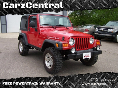 2003 Jeep Wrangler for sale in Estherville, IA