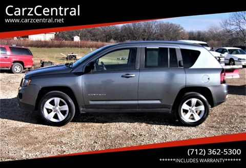 2014 Jeep Compass for sale at CarzCentral in Estherville IA