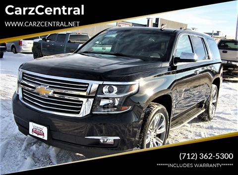 2015 Chevrolet Tahoe for sale at CarzCentral in Estherville IA