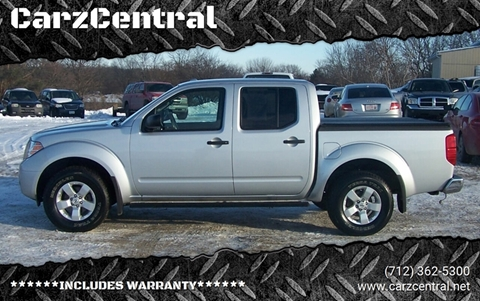 2012 Nissan Frontier for sale at CarzCentral in Estherville IA