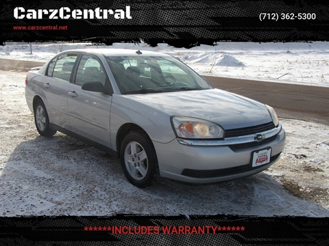 2005 Chevrolet Malibu for sale at CarzCentral in Estherville IA