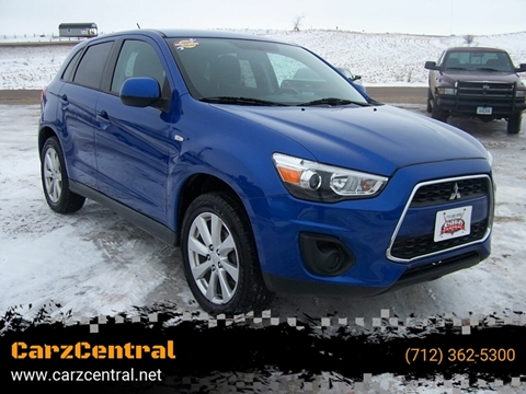 2015 Mitsubishi Outlander Sport for sale at CarzCentral in Estherville IA