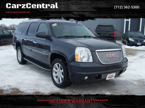 2008 GMC Yukon XL for sale at CarzCentral in Estherville IA