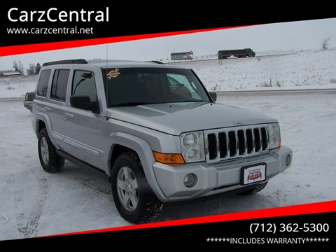 2010 Jeep Commander for sale at CarzCentral in Estherville IA