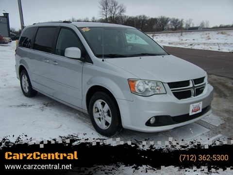 2011 Dodge Grand Caravan for sale at CarzCentral in Estherville IA