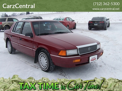 1992 Plymouth Acclaim for sale at CarzCentral in Estherville IA