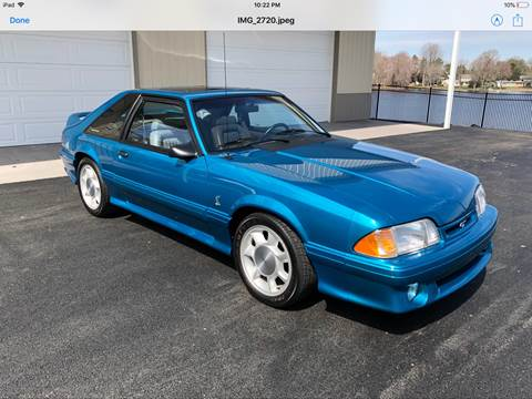 1993 Ford Mustang For Sale In Cincinnati Oh Carsforsale