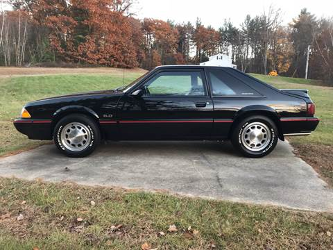 1988 Ford Mustang for sale at Cella  Motors LLC in Auburn NH