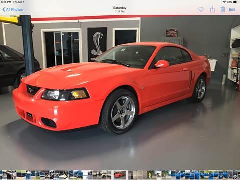 2004 Ford Mustang SVT Cobra for sale at Cella  Motors LLC in Auburn NH