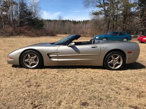 1999 Chevrolet Corvette for sale at Cella  Motors LLC in Auburn NH