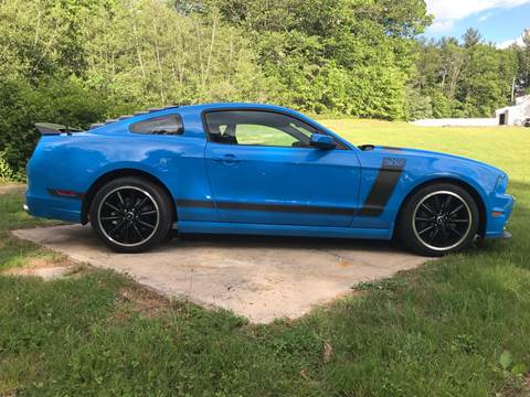 2013 Ford Mustang for sale at Cella  Motors LLC in Auburn NH