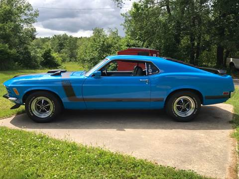 1970 Ford Mustang Boss 302 for sale in Auburn, NH