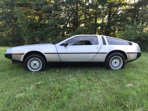 1982 DeLorean DMC-12 for sale at Cella  Motors LLC in Auburn NH