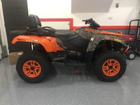 2016 Arctic Cat Trv700 for sale at Cella  Motors LLC in Auburn NH