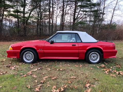 1990 Ford Mustang for sale in Auburn, NH