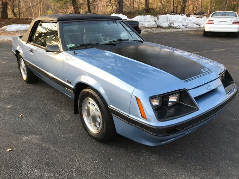 1985 Ford Mustang for sale at Cella  Motors LLC in Auburn NH