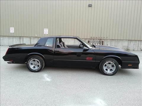 1988 Chevrolet Monte Carlo for sale at Cella  Motors LLC in Auburn NH