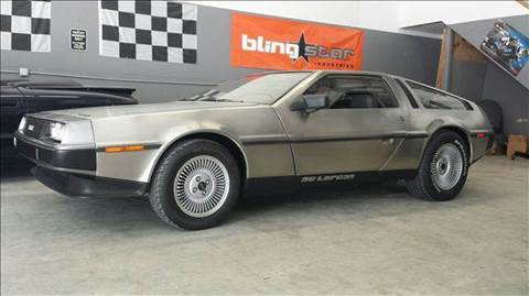1981 DeLorean DMC-12 for sale at Cella  Motors LLC in Auburn NH