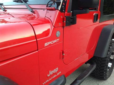 2004 Jeep Wrangler for sale at Cella  Motors LLC in Auburn NH