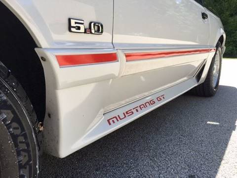1989 Ford Mustang for sale at Cella  Motors LLC in Auburn NH