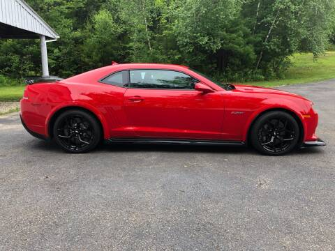 2015 Chevrolet Camaro for sale at Cella  Motors LLC in Auburn NH