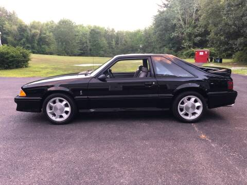 1993 Ford Mustang SVT Cobra for sale at Cella  Motors LLC in Auburn NH