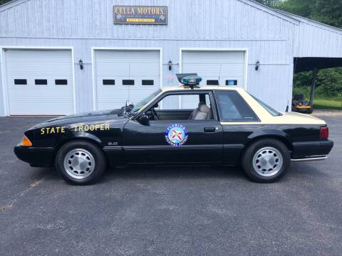 1991 Ford Mustang for sale at Cella  Motors LLC in Auburn NH