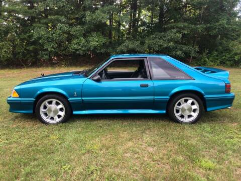 1993 Ford Mustang SVT Cobra for sale at Cella  Motors LLC in Auburn NH