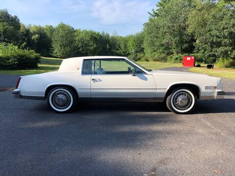 1985 Cadillac Eldorado for sale at Cella  Motors LLC in Auburn NH
