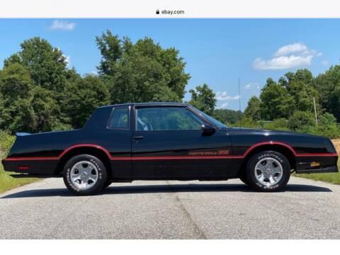 1986 Chevrolet Monte Carlo for sale at Cella  Motors LLC in Auburn NH
