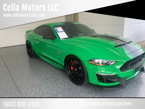 2019 Ford Mustang for sale at Cella  Motors LLC in Auburn NH