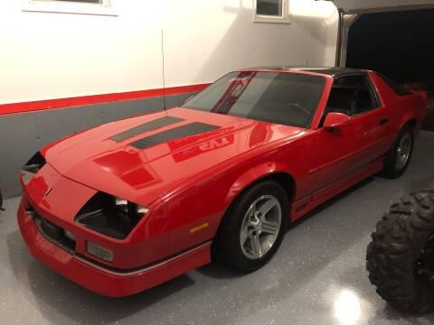 1989 Chevrolet Camaro for sale at Cella  Motors LLC in Auburn NH