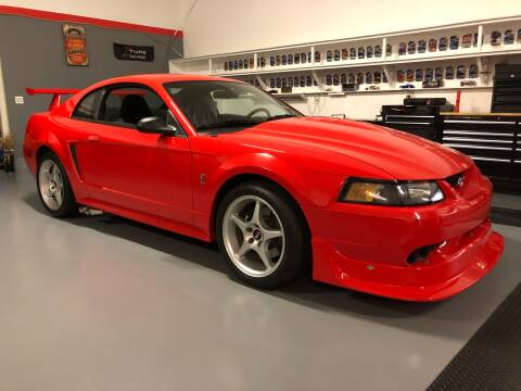 2000 Ford Mustang SVT Cobra for sale at Cella  Motors LLC in Auburn NH