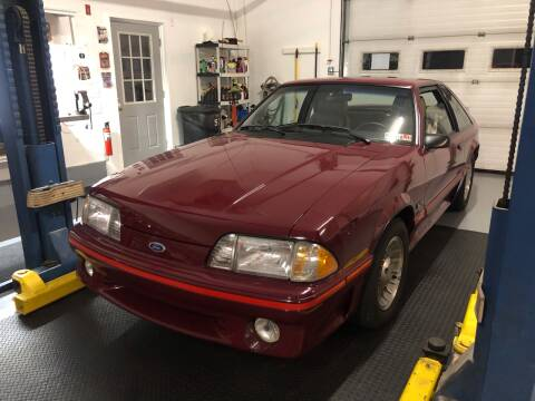 1987 Ford Mustang for sale at Cella  Motors LLC in Auburn NH