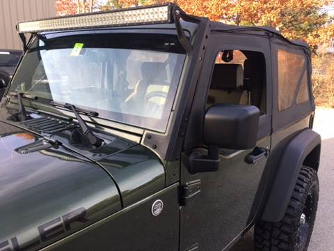 2007 Jeep Wrangler for sale at Cella  Motors LLC in Auburn NH