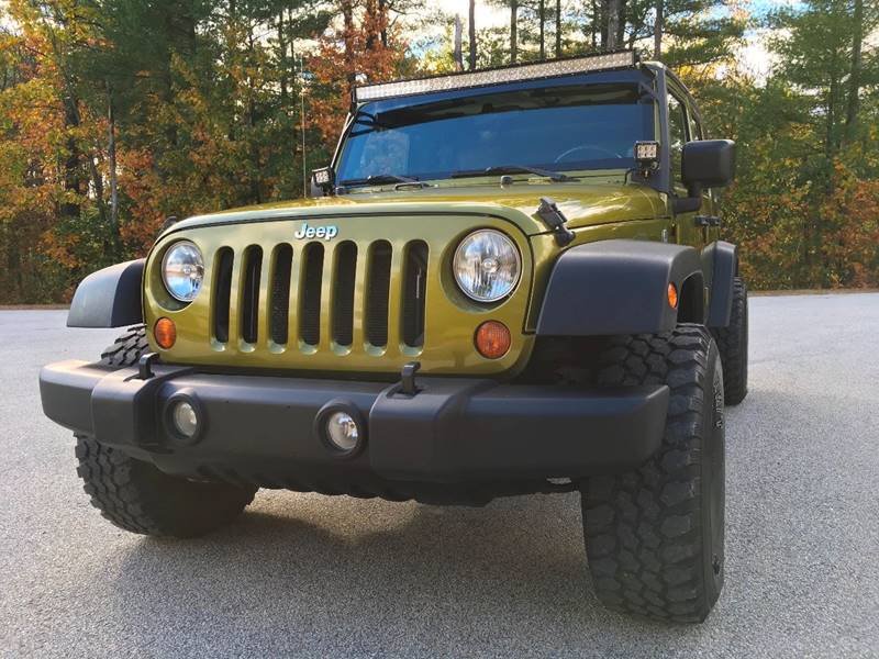 2007 Jeep Wrangler Unlimited for sale at Cella  Motors LLC in Auburn NH