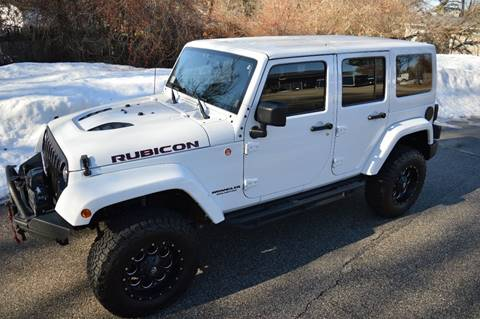 2014 Jeep Wrangler Unlimited for sale at Cella  Motors LLC in Auburn NH