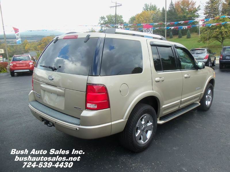 2005 ford explorer limited 4wd 4dr suv in latrobe pa bush auto sales. Cars Review. Best American Auto & Cars Review