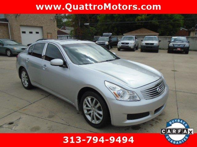 2007 Infiniti G35 car for sale in Detroit