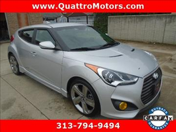 2013 Hyundai Veloster Turbo for sale in Redford, MI